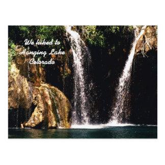 We hiked to Hanging Lake Colorado Postcards