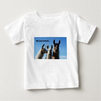 We just heard... baby T-Shirt