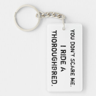 We laugh in the face of danger... keychain
