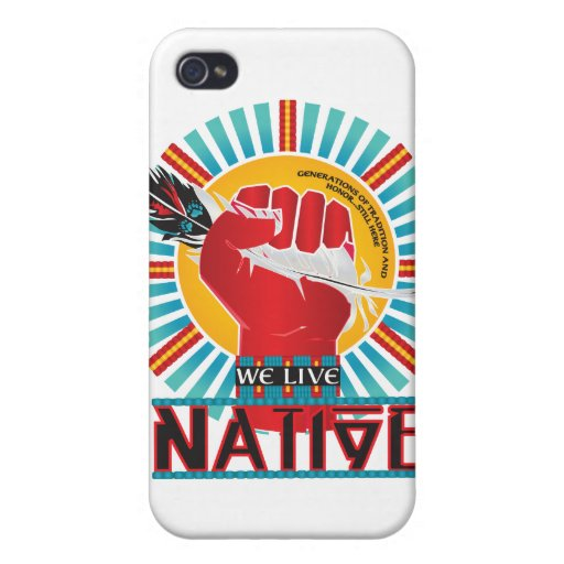 We Live Native™ Collection iPhone 4 Covers