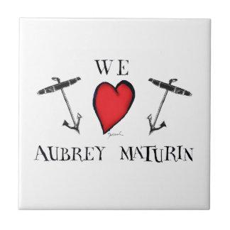 we love aubrey maturin, tony fernandes tiles