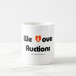 We Love Auctions Coffee Mug