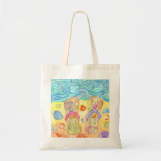 We love beach! summer budget tote