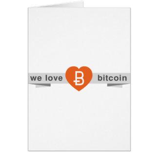 We Love Bitcoin Card