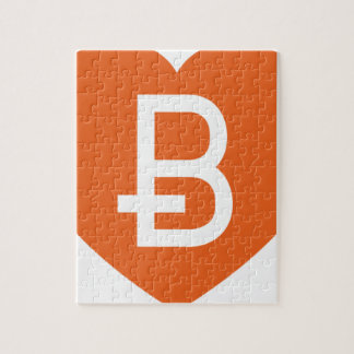We Love Bitcoin Jigsaw Puzzle