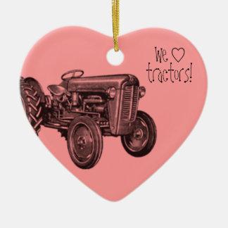 We Love Cool Tractors Ornament