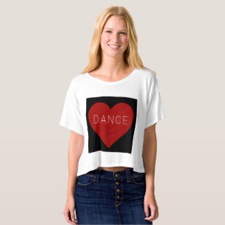 We Love Dance Crop Top