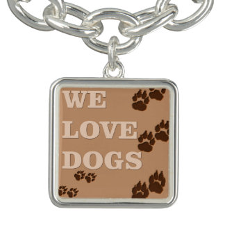 We love dogs - you betcha! bracelets