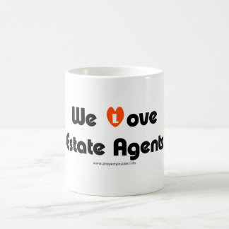 We Love Estate Agents Coffee Mug