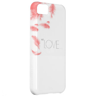 We Love Falling Feather iPhone 5  Case