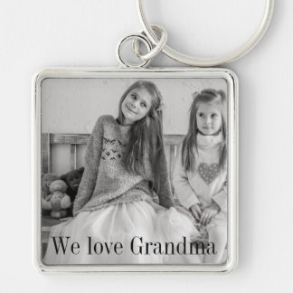 We love Grandma photo key chain