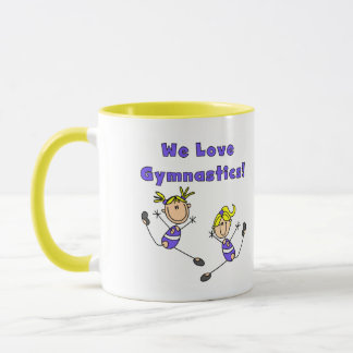 We Love Gymnastics Tshirts and Gifts Mug