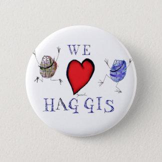 we love haggis 2 inch round button