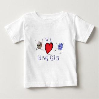 we love haggis baby T-Shirt