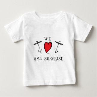 we love hms surprise, tony fernandes baby T-Shirt