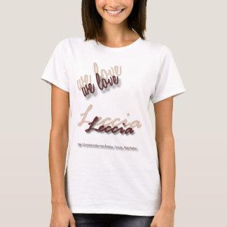 We Love Leccia T-shirt
