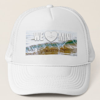 We love mini waves trucker hat