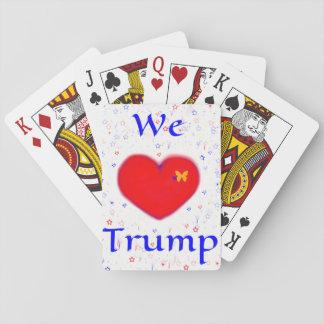 WE LOVE TRUMP POKER DECK
