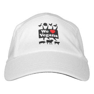 We love Vegans II (blk) Hat