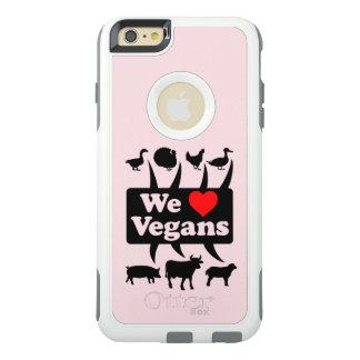 We love Vegans II (blk) OtterBox iPhone 6/6s Plus Case