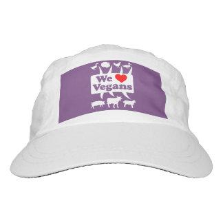 We love Vegans II (wht) Hat