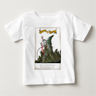 we love yorkshire downhill whippet race baby T-Shirt