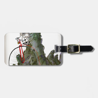 we love yorkshire downhill whippet race luggage tag