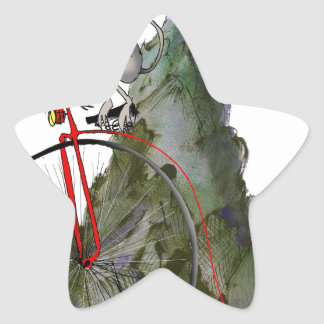 we love yorkshire downhill whippet race star sticker