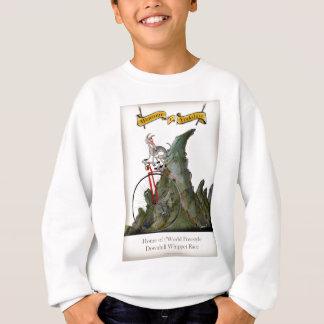 we love yorkshire downhill whippet race sweatshirt