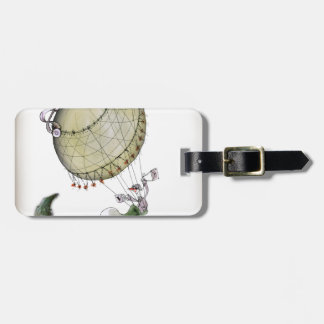 we love yorkshire pickled onion luggage tag