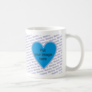 We love you Mummy - personalize with photo Coffee Mug