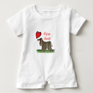 we luv afghan hounds from tony fernandes baby romper