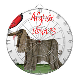we luv afghan hounds from tony fernandes dartboard