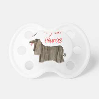 we luv afghan hounds from tony fernandes pacifier