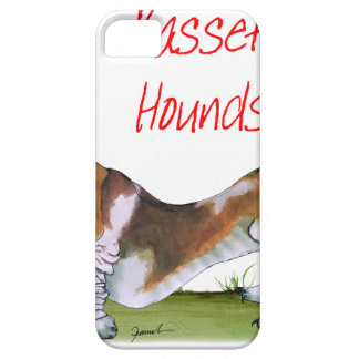 we luv basset hounds from tony fernandes iPhone 5 cover
