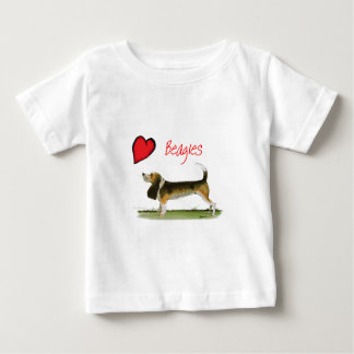 we luv beagles from tony fernandes baby T-Shirt