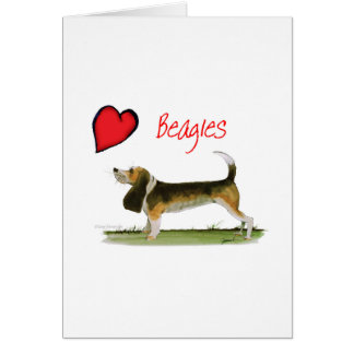 we luv beagles from tony fernandes card