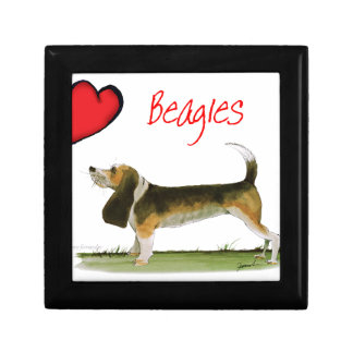 we luv beagles from tony fernandes gift box