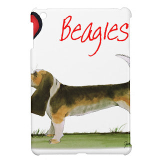 we luv beagles from tony fernandes iPad mini covers
