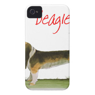 we luv beagles from tony fernandes iPhone 4 Case-Mate case