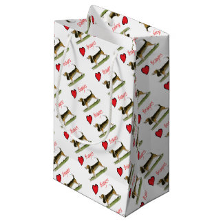 we luv beagles from tony fernandes small gift bag