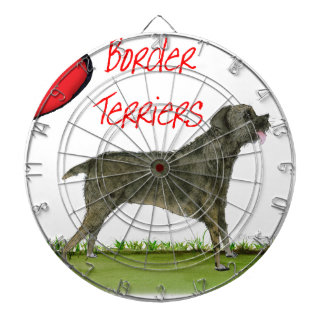 we luv border terriers from tony fernandes dartboard