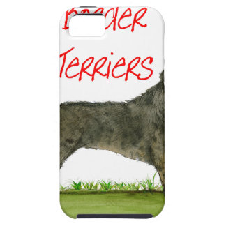 we luv border terriers from tony fernandes iPhone 5 cover