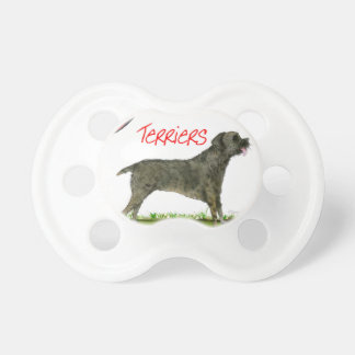 we luv border terriers from tony fernandes pacifier
