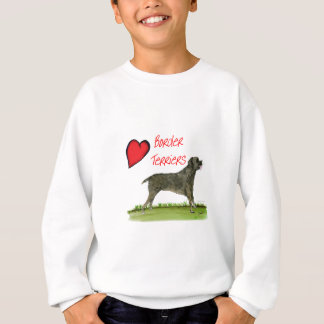 we luv border terriers from tony fernandes sweatshirt