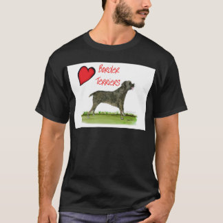 we luv border terriers from tony fernandes T-Shirt