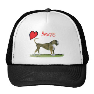we luv boxers from tony fernandes trucker hat