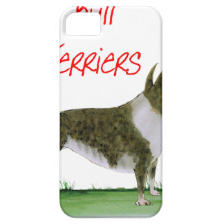 we luv bull terriers from tony fernandes case for the iPhone 5