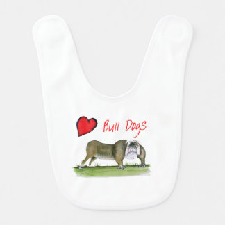 we luv bulldogs from tony fernandes bib