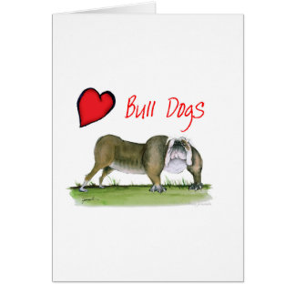 we luv bulldogs from tony fernandes card
